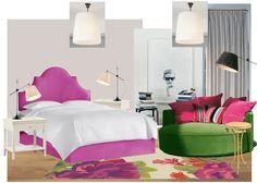 mood board bedroom