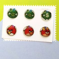 #boutonhome #apple #iphone #ipad #ipod #homebuttonsticker #angrybirds Sticker Angry Birds pour Bouton Home iPhone iPad iPod