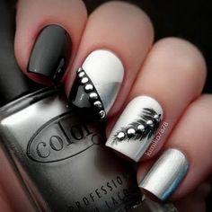 6-black-white-nail-art-designs