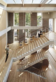 Ortus Maudsley Learning Centre by Duggan Morris Architects - calm rationalism