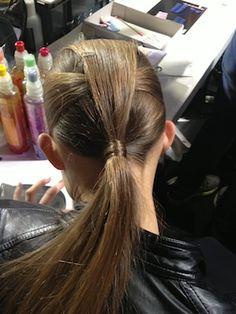 I suddenly miss my long hair Best In Beauty: LFW Day Two | ELLE UK