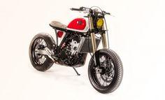 Suzuki DRZ 400E Brat Style by Wolf Moto #motorcycles #bratstyle #motos | caferacerpasion.com
