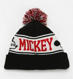 Mickey Mouse beanie from Urban Outfitters