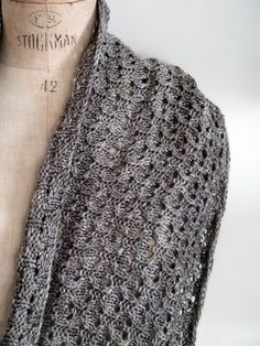 I knit so I don't kill people — I love this stitch.