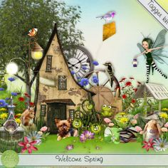 Welcome Spring - tagger size
