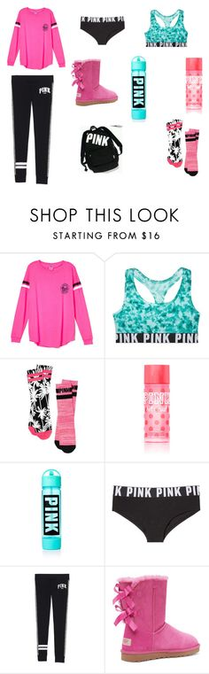 """The Ultimate PINK Outfit!!!!!!!!!!!!!!!!"" by jazmine-1222 ❤ liked on Polyvore featuring moda, Victoria's Secret, women's clothing, women, female, woman, misses e juniors"