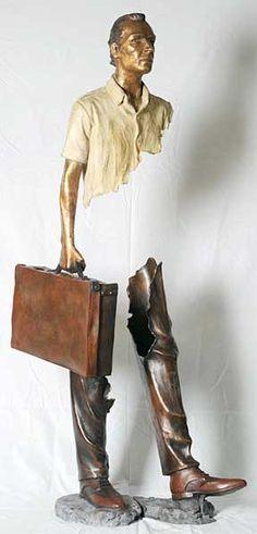 Bruno Catalano's sculptures