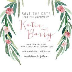 Bohemian Wedding Invitation Suite DEPOSIT DIY by SplashOfSilver