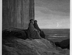 """Evening,"" in Ante-Purgatory by Gustave Dore."