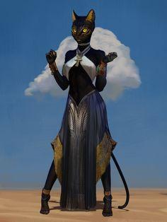 Cat Character, Fantasy Character Design, Character Design Inspiration, Character Concept, Fantasy Races, Fantasy Rpg, Fantasy Artwork, Dungeons And Dragons Characters, Dnd Characters