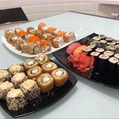 Sushi Party, Kimbap, Good Food, Yummy Food, Food Obsession, Recipes From Heaven, Sunday Brunch, Coffee Recipes, Aesthetic Food