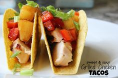 Sweet & Sour Grilled
