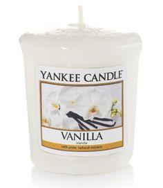 Vanille - Bougie parfumée votive - Yankee Candle