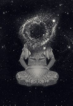 We are unraveling our navels so that we may ingest the sun. / We are not afraid of the darkness. / We trust that the moon shall guide us. / We are determining the future at this very moment. / We know that the heart is the philosopher's stone... ~Saul Williams
