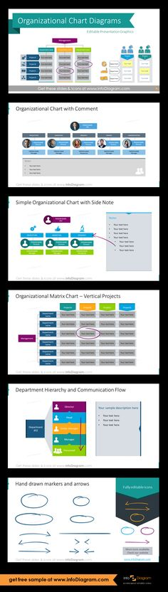 Company Organizational Structure Charts Ppt Diagrams