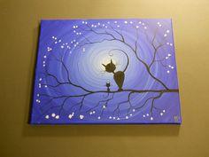 Our Place 11 x 14 acrylic on canvas ready por MichaelHProsper