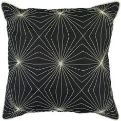 @Overstock - Add a futuristic touch to your home or living room with this modern 18 x 18 inch pillow. The black and white starburst pattern blends well with most home décor styles. Create your own unique design style with this one-of-a-kind accent pillow!http://www.overstock.com/Home-Garden/Decorative-Band-18x18-Pillow/6428347/product.html?CID=214117 $28.99