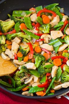 Make This Veggie-Packed Stir-Fry Recipe For an Easy Midweek Meal