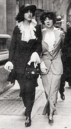 'On the face of it, Vita (left) led a life of serene Edwardian upper-class respectability....