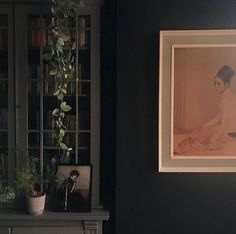 Styling Challenge | Faux Ivy - Rose And Grey Ivy Rose, Navy Walls, Creative Shot, Fake Plants, Style Challenge, Deco, Beautiful Images, House Plants, Challenges