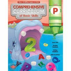 Preschool Curriculum workbook for teachers and kids.