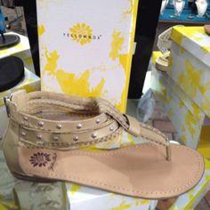 Yellow box shoes!