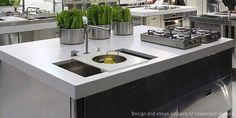 Lavaplatos de Cocina | Corian® | DuPont Chile | cocinas muebles y ...