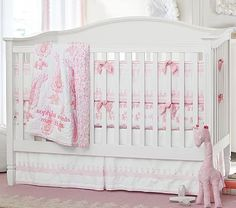 Madison Fixed Gate 3-in-1 Crib. This is Nat's crib!! Beautiful, love it!! Her bedding set is not this one but it's also beautiful!!! 11/2014