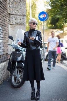 STYLE DU MONDE / Milan FW SS2014: Kate Lanphear