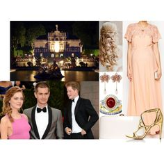 Attending the pre-wedding dinner of her cousin Prince Karl of Wittelsbach-Savoia and Katharina Weiß at Linderhof Palace by innominata on Polyvore featuring ASOS, Rocio, Cartier, GALA and Vanity Fair