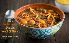 Stews and Chilies | recipe from FatFree Vegan Kitchen