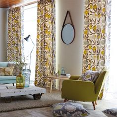 Products | Scion - Fashion-led, Stylish and Modern Fabrics and Wallpapers | Blomma (NFIK120359) | Levande Fabrics
