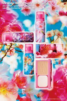 Shu Uemura Sakura collection with Mika Ninagawa