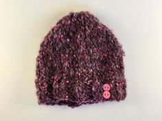 Child hat knit by ONeilCreations on Etsy