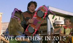 Hoverboards YES!