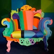 amazing coloured chairs - Google Search