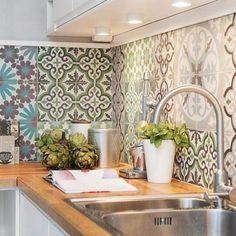 Patchwork con piezas hidráulicas en tu cocina ¡Mira mira!