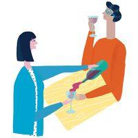 Lagom Wrapping Paper - Naomi Wilkinson Illustration
