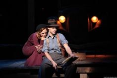 'Bonnie &Clyde' preparing for move to Broadway Bonnie And Clyde Musical, Bonnie And Clyde Photos, Bonnie Clyde, Theatre Nerds, Musical Theatre, Theater, Why Lie, Laura Osnes, Hansen Is