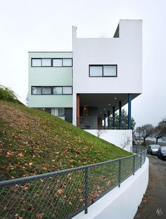 Haus Le Corbusier at Weissenhofsiedlung.  Stuttgart, Germany.  All rights reserved. No use & distribution without express written permission. Strictly enforced.