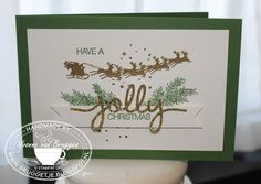 Yvonne is Stampin' & Scrapping: Stampin' Up! Cozy Christmas & Holly Jolly Greetings #stampinup