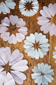 Tissue Paper Heart Tutorial