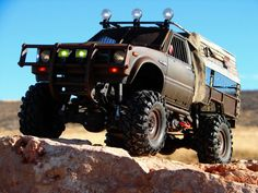 RC Scale Hilux Zombie Smasher! I love it and one day I will build one for myself!