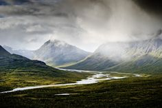 Sarek National Park. Sweden.