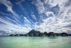 Wild clouds in Bora Bora | Stuck in Customs