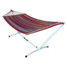 Hamak w paski Jumi z łącznikiem 220 x 160 cm Beach Mat, Outdoor Blanket