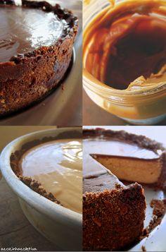 A Cozinha Coletiva: Cheesecake de manteiga de amendoim da Nigella