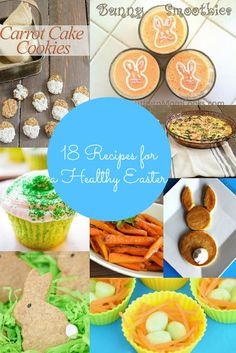Easter is just around the corner but it doesn't have to be unhealthy. Check out these 18 recipes for a healthy Easter.