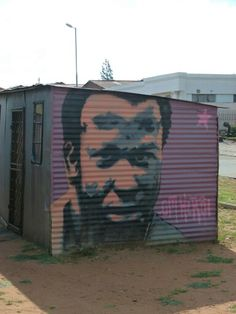Johannesburg Street Art, The Past, Shed, Outdoor Structures, History, Outdoor Decor, Home Decor, Historia, Decoration Home