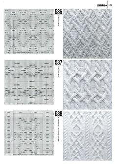 #japan #cableknit #chart #pattern #sample